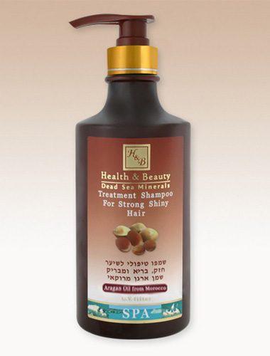 Health & Beauty Dead Sea Minerals Moroccan Argan Oil Hair Shampoo