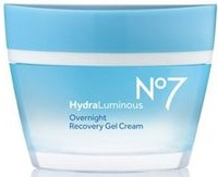 No7 Hydraluminous Overnight Recovery Gel Cream
