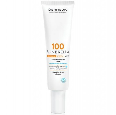 Dermedic 100 Sunbrella Sunspot Screen Med