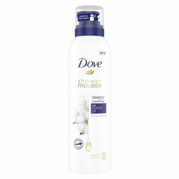 Dove Nourishing Shower and Shave Mousse