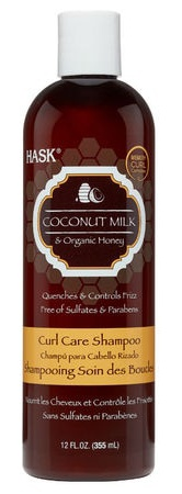 HASK Curl Coconut Milk & Honey Care Shampoo