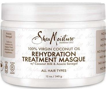 Shea Moisture 100% Virgin Coconut Oil Rehydration Treatment Masque