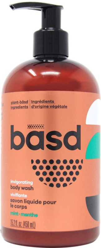 Basd Invigorating Mint Body Wash
