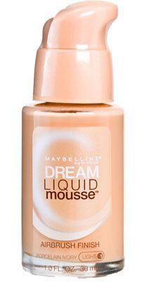 Maybelline Dream Liquid Mousse Airbrush Finish Foundation