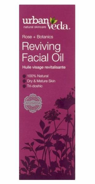 Urban Veda Rose + Botanics Reviving Facial Oil