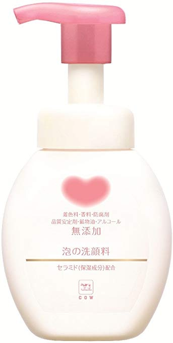 Cow Brand Gyunyu Non Additive Foaming Facial Cleanser