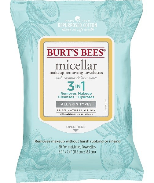 Burt's Bees Micellar With Coconut & Lotus Water Facial Wipes