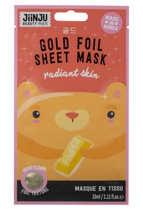 Jiinju Gold Foil Sheet Mask