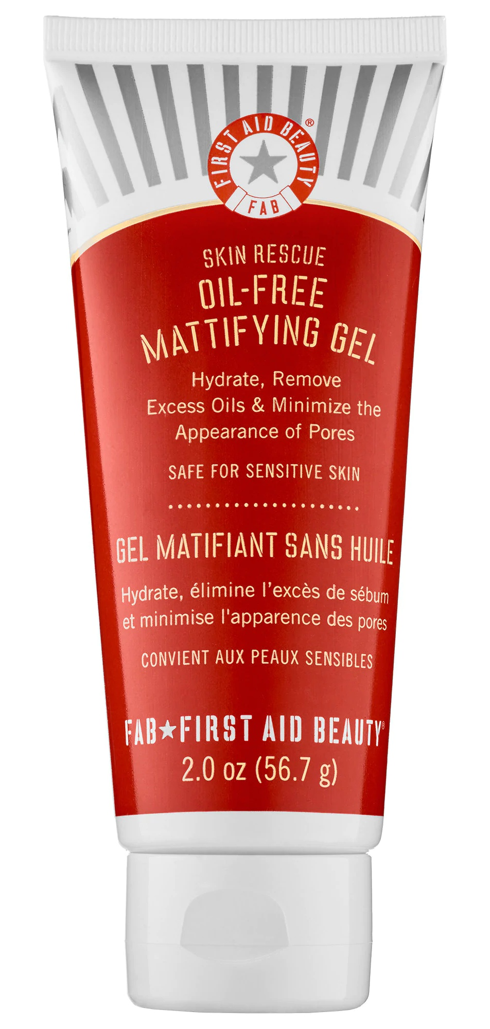 First Aid Beauty Skin Rescue Oil-Free Mattifying Gel Moisturizer