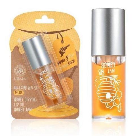 Shingmulnara Honey Dipping Lip Oil #Honey Jam