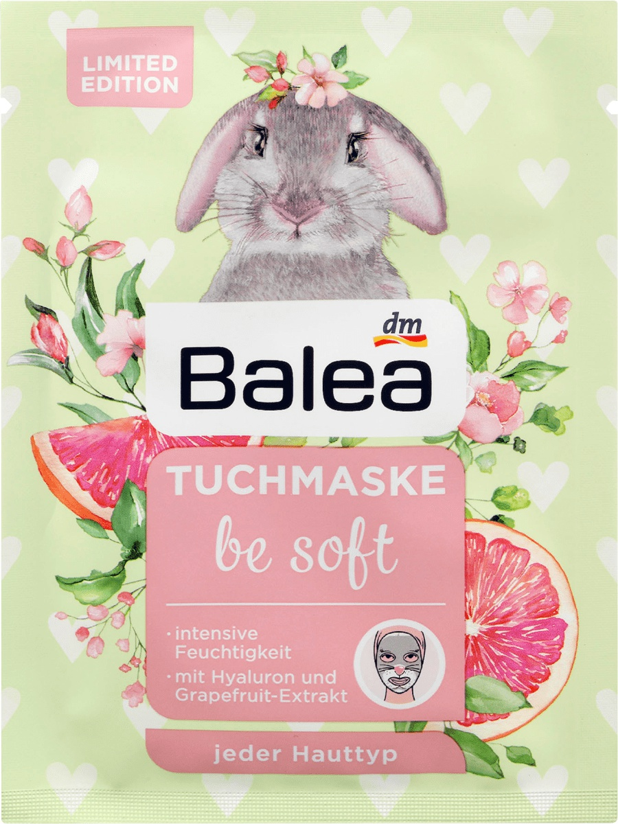 Balea Tuchmaske Be Soft