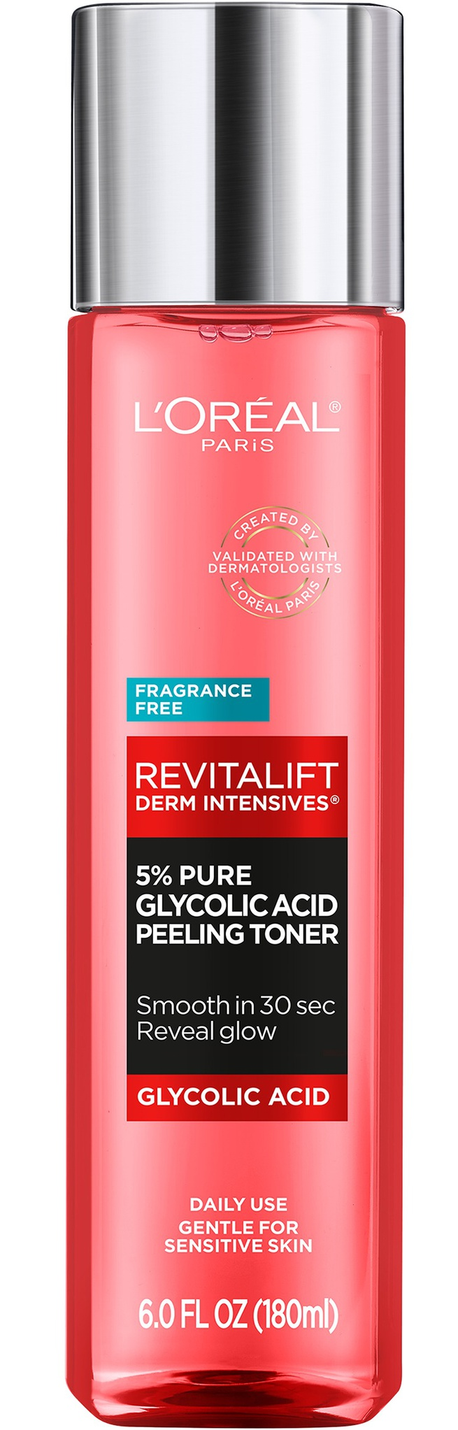 L'Oreal Paris Derm Intensives Revitalift 5% Pure Glycolic Acid Peeling Toner