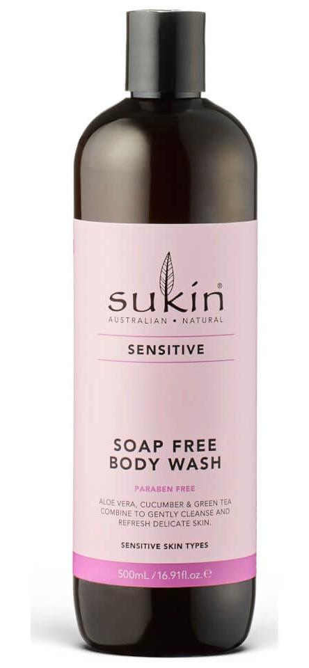 Sukin Sensitive Soap Free Body Wash