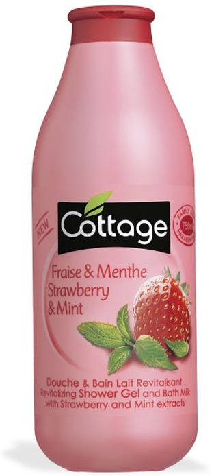 Cottage Revitalizing Shower Gel - Strawberry And Mint