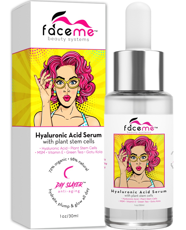 Face me Hyaluronic acid serum with plant stem cells