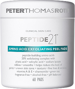 Peter Thomas Roth Peptide 21 Amino Acid Exfoliating Peel Pads