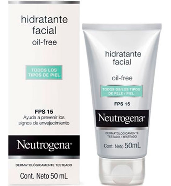 Neutrogena Hidratante Facial Oil Free Fps 15 Todo Tipo De Piel Ingredients Explained