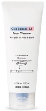 Etude House Cica Balance 5.5 Foam Cleanser