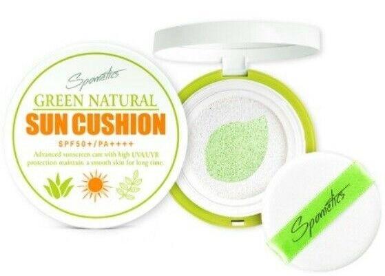 Spometics Green Natural Sun Cushion