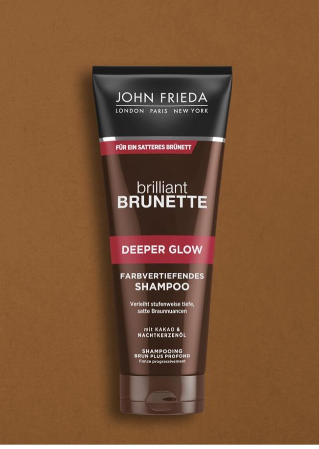 John Frieda Brilliant Brunette Deeper Glow Shampoo