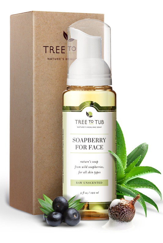 Tree to Tub Soapberry Facial Cleanser Raw Unscented
