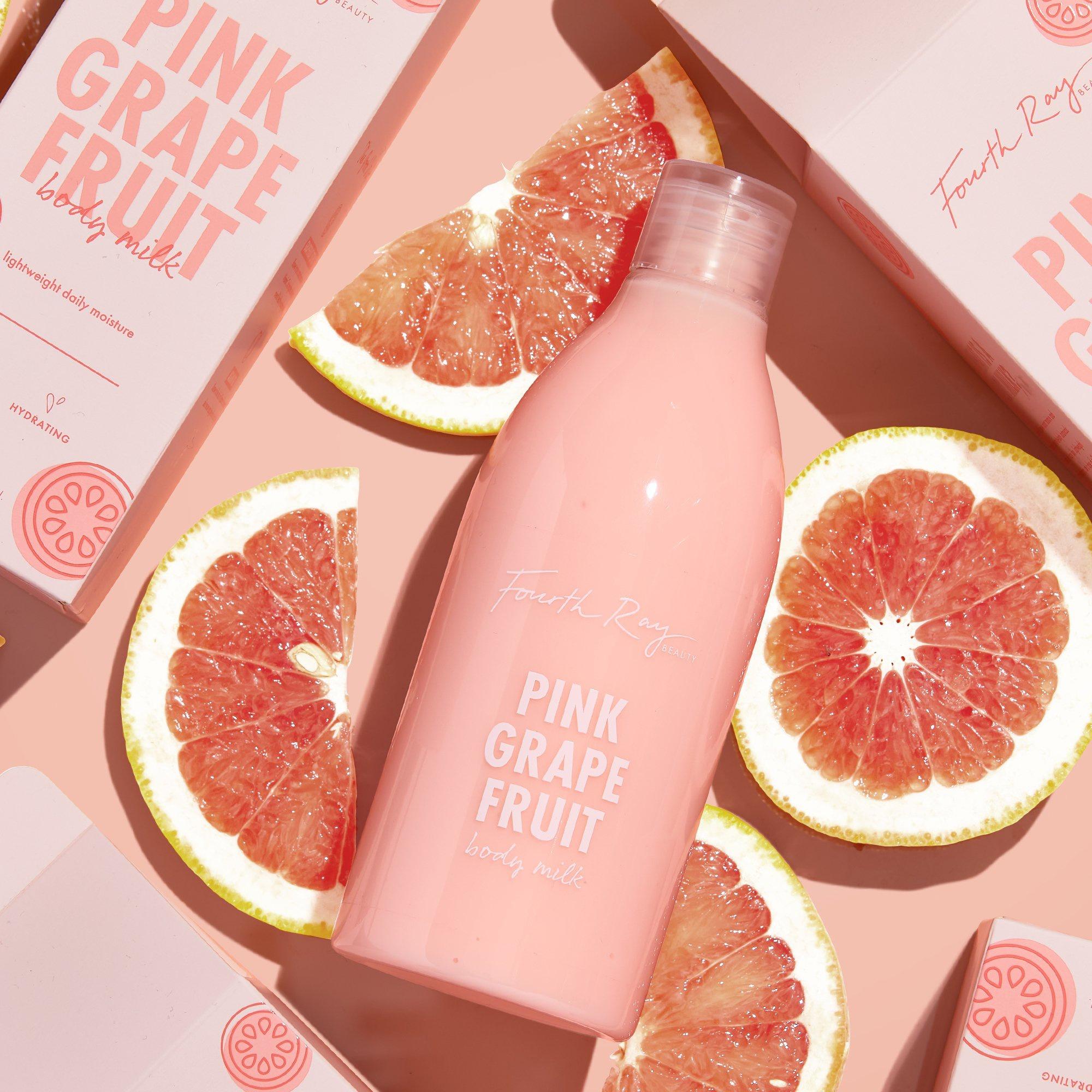 Fourth Ray Pink Grapefruit Brightening Body Milk