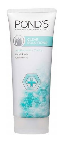 Pond's Clear Solutions Anti-Bacterial Facial Scrub