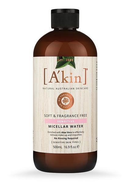 A'KIN Soft & Fragrance Free Micellar Water