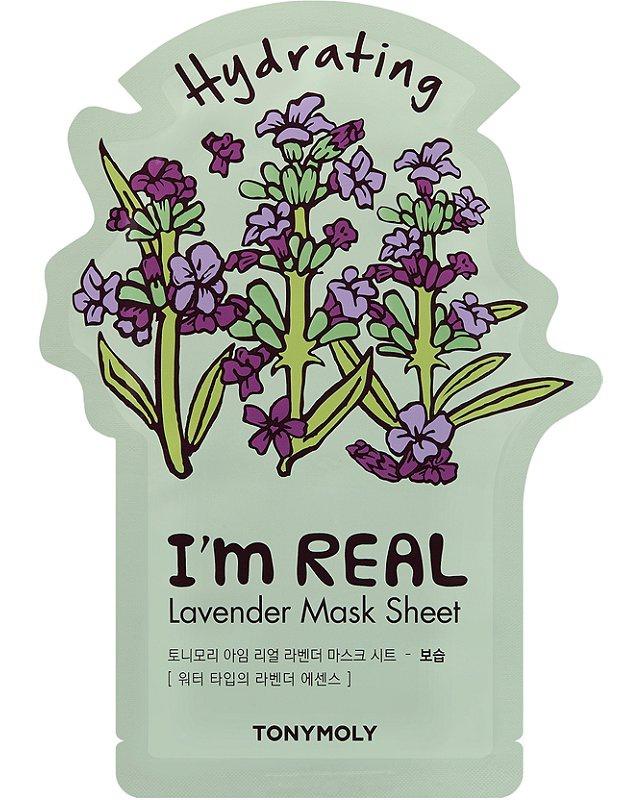 TonyMoly I'M Real Lavender Sheet Mask