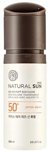 The Face Shop Natural Sun Eco Ice Air Puff Sun