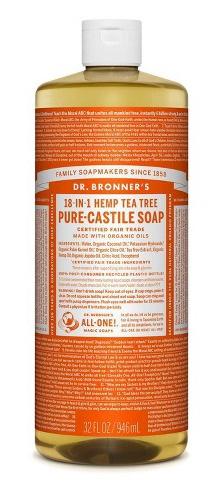 Dr. Bronner's 18 In 1 Hemp Tea Tree Pure-Castile Soap