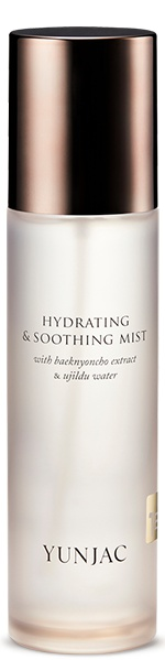 Yunjac Hydrating & Soothing Mist With Baeknyoncho Extract & Ujildu Water