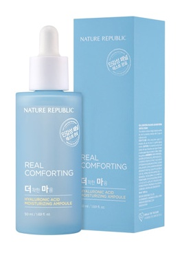 Nature Republic Real Comforting Hyaluronic Acid Moisturizing Ampoule