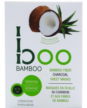 Boo Bamboo Bamboo Fiber Charcoal Sheet Mask