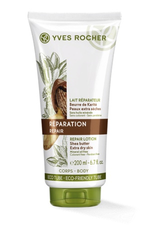 Yves Rocher Shea Butter Repair Lotion Extra Dry Skin