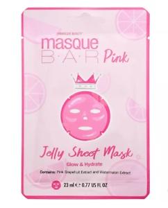 Unmasque beauty Bar Pink Jelly Sheet Mask