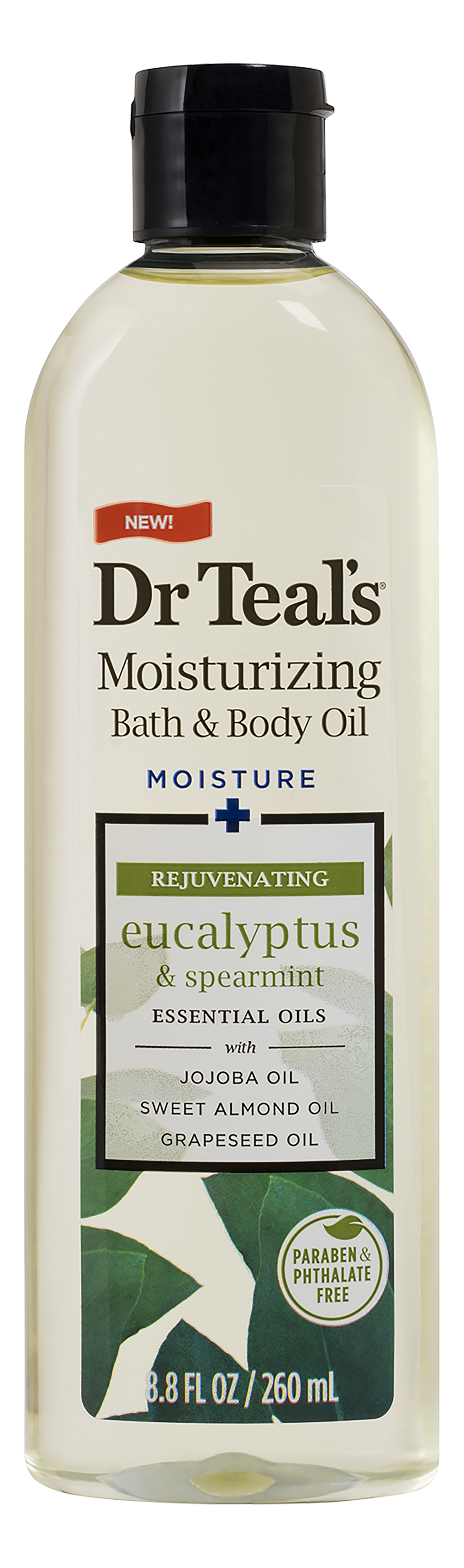 Dr. Teal's Relax & Relief With Eucalyptus & Spearmint Body Oil