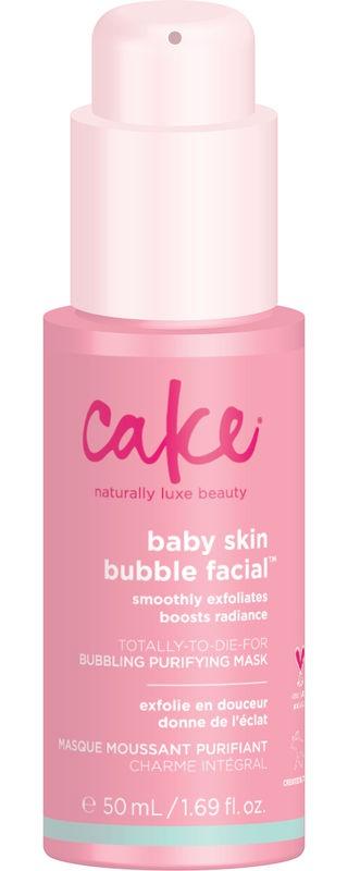 Cake Baby Skin Bubble Facial Mask - Bubbling Purifying Mask