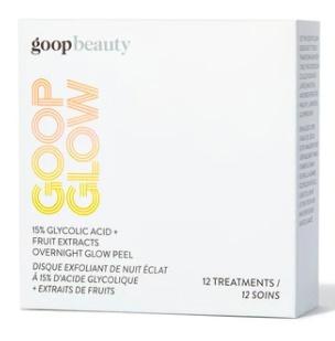 Goop Glow 15% Glycolic Acid + Fruit Extracts Overnight Glow Peel