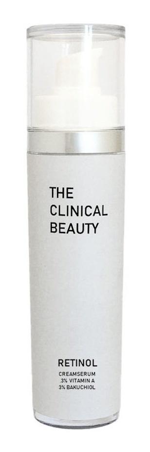 THE CLINICAL BEAUTY retinol 0.3% | 3% bakuchiol cremeserum