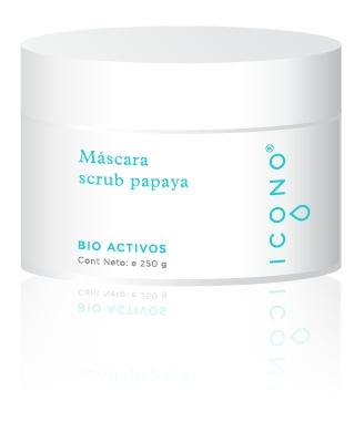 Icono Mascara Scrub Papaya