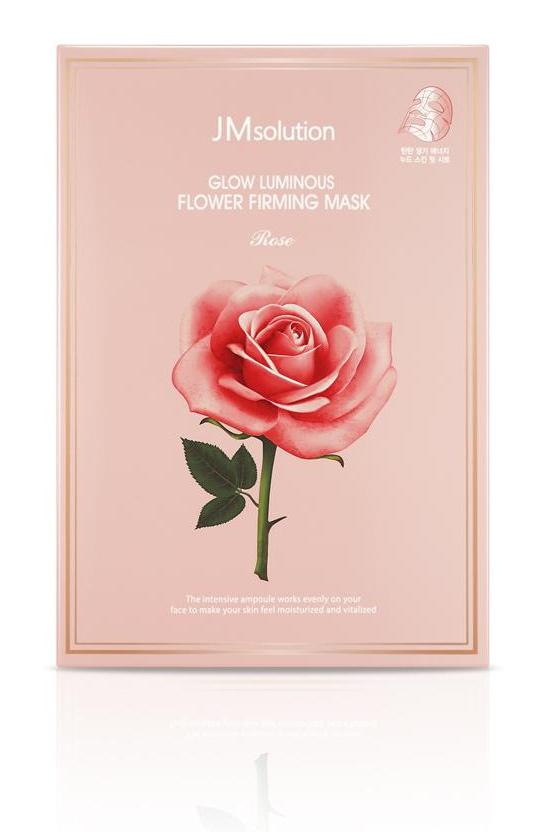 JMsolution Glow Luminous Flower Firming Mask Rose