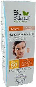 Bio Balance Aknsun Mattifying Face Aqua Fusion SPF 50+