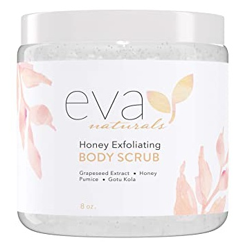 Eva Naturals Honey Exfoliating Body Scrub