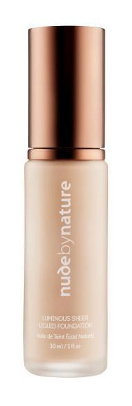 Nude by nature Luminous Sheer Liquid Foundation