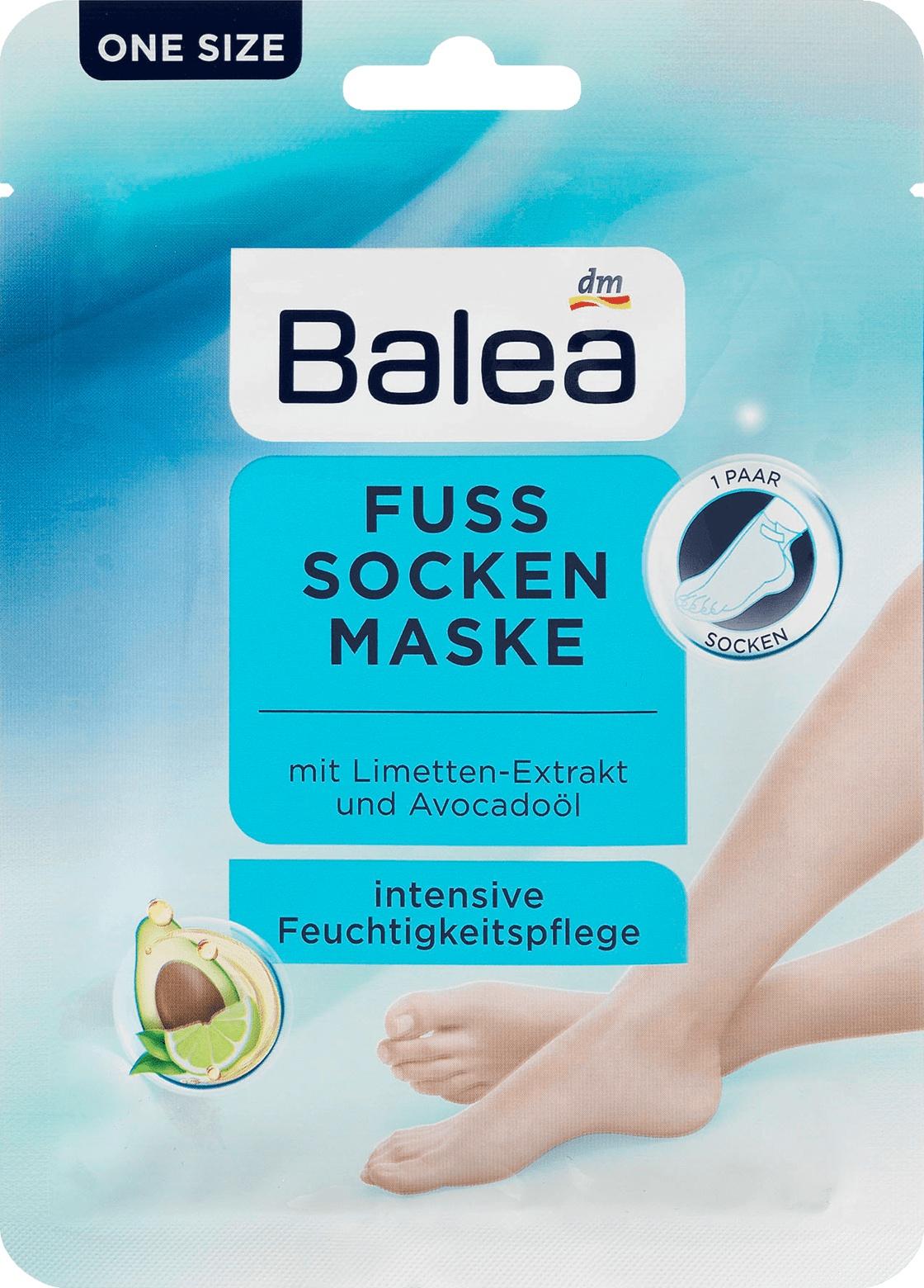 Balea Intensive Care Foot Mask