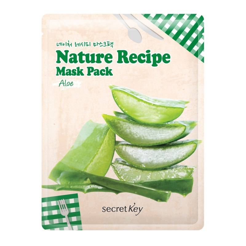 Secret Key Nature Recipe Mask Pack (Aloe)