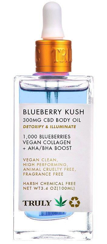 Truly Blueberry Kush CBD Body Oil