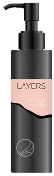 layers Balancing Milky Cleanser