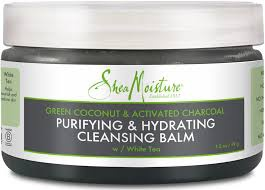 SheaMoisture Green Coconut & Activated Charcoal Cleansing Balm